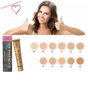 Dermacol Base Maquillaje Profesional Alta Cobertura
