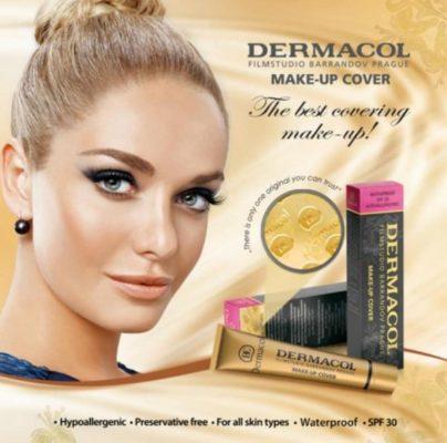 tonos dermacol base de maquillaje