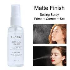 Spray fijador de Maquillaje Acabado Mate