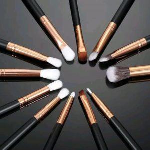 Set Pinceles Maquillaje 12 Pinceles