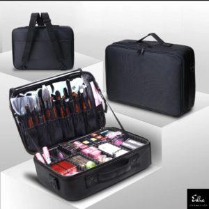 Bolsa de cosméticos y maquillaje portátil