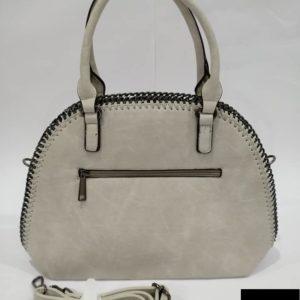 bolso beige grande cadena de moda