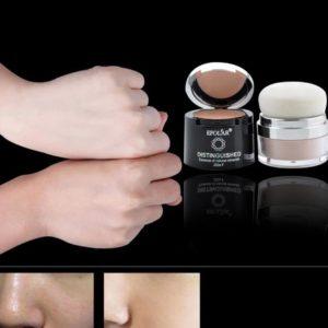 corrector con aplicador polvos maquillaje