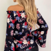Blusa estampado floreado de mujer