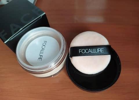 polvos de maquillaje blancos focallure