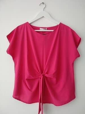 blusa rosa fucsia elegante y barata