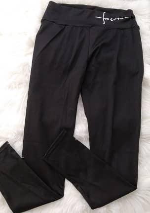 leggins negros ajustados deportivos baratos
